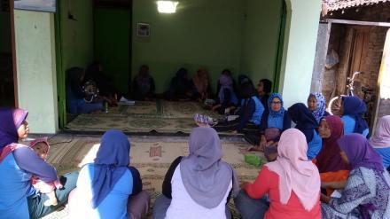 Kegiatan PSN (Pemberantasan Sarang Nyamuk) Dusun Cimpon Tirtosari